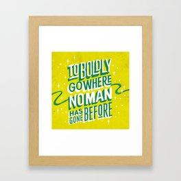 Enterprising Framed Art Print
