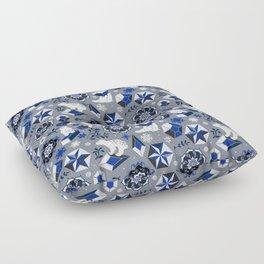 On ice Floor Pillow