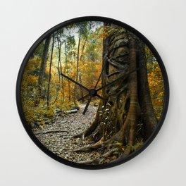 Bunya treasure Wall Clock