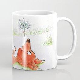 Foxy in the field Coffee Mug