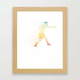 Abstract Artistic Boxing Gift Framed Art Print