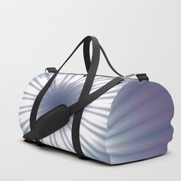 Sun Pole Starburst Mandala 3 Duffle Bag