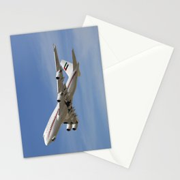 Dubai Air Wing 747-422 A6-HRM Stationery Cards