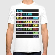 The Iller Kid Mens Fitted Tee MEDIUM White
