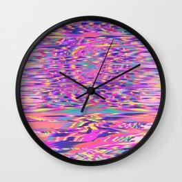Morning Rip Wall Clock