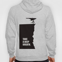 Lab No. 4 - Take a deep breath ! Business Quotes Poster Hoody