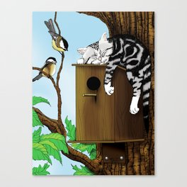The Mighty Hunter Canvas Print