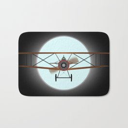 Flying by Night Bath Mat