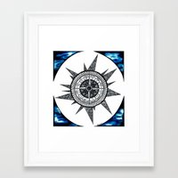 zodiac Framed Art Prints featuring Zodiac  by HaleySayersArt