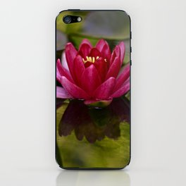 Water lily on the pond iPhone Skin