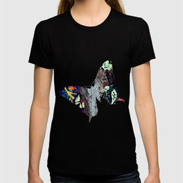 Cow Skull Floral T-shirt