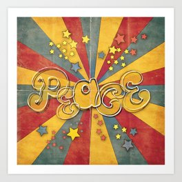 peace Art Print