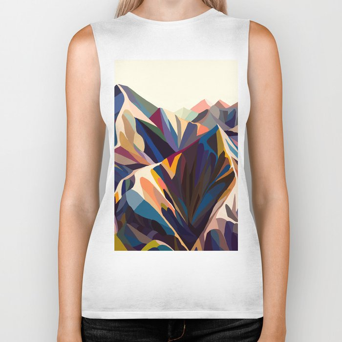 Mountains original Biker Tank