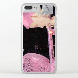 Cybersex Clear iPhone Case