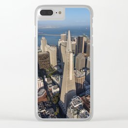 Aerial View of Downtown San Francisco Clear iPhone Case