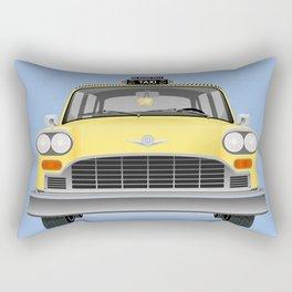 Yellow cab Rectangular Pillow