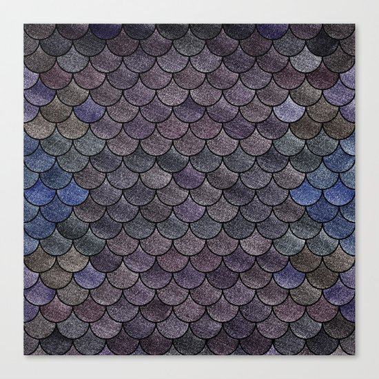 Lovely Pattern II(Glitter Version) Canvas Print