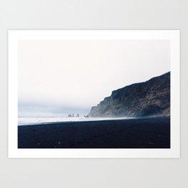 Vik Black Sand Beach, Iceland Art Print