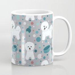 Bichon Frise dog pattern Coffee Mug