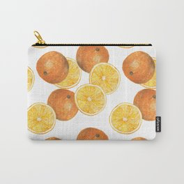 orange pattern Carry-All Pouch