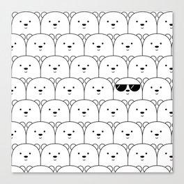 That Cool Polar Bear Canvas Print