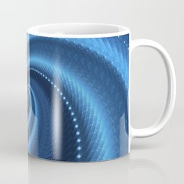 POWER SPIRAL UNIVERSE IN BLUE Coffee Mug