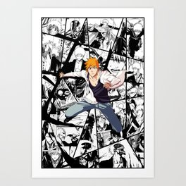 Ichigo Kurosaki world evolution Art Print
