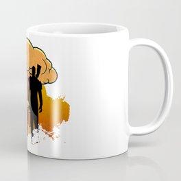 Fallout 4 - Lone Wanderer and Dogmeat Nuke Splatter (Vintage) Coffee Mug