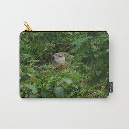 Groggy Groundhog Carry-All Pouch