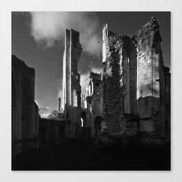 Ruins Jumièges Canvas Print