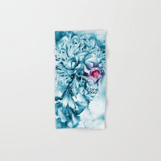 Frozen Skull Hand & Bath Towel