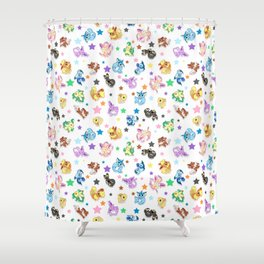 Cuties In The Stars Shower Curtain