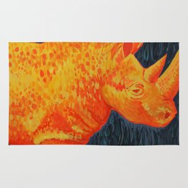 Gold Rhino Rug