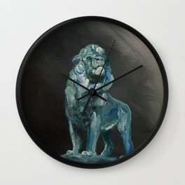 Art Institute Lion Wall Clock