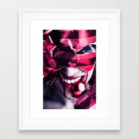 gift card Framed Art Prints featuring Gift by Imustbedead