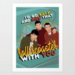 Jonas Brothers POSTER / CARD / WALLPAPER Art Print