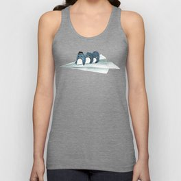 Let's travel the world Unisex Tank Top