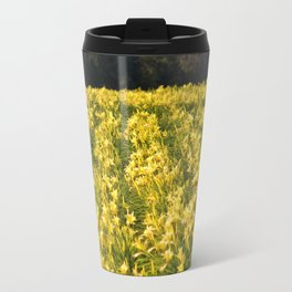 Flowers By The Highway Travel Mug
