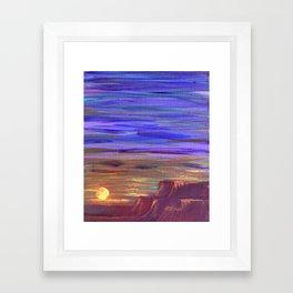Magical Southwest Night Sky Framed Art Print