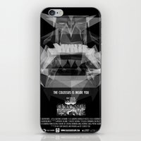 shadow of the colossus iPhone & iPod Skins featuring Colossus Escape  by Gaetano Leonardi