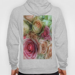 Roses - Pink and Cream Hoody