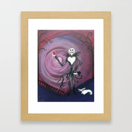 Jack and Zero Framed Art Print