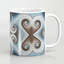 a gentleman dreams of love while walking home in the snow Coffee Mug