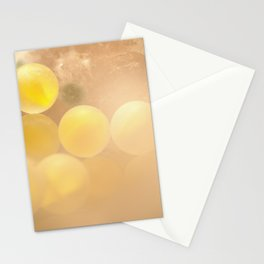 Glass-yellow Stationery Cards