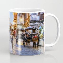 Rush Hour in Vigan City Coffee Mug