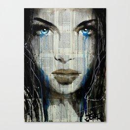 BLUE COAST Canvas Print