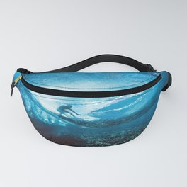 Wave Series Photograph No. 24 - Beneath the Surface Fanny Pack