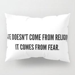 Hate-Sana Pillow Sham
