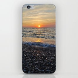 Sunset and Stones iPhone Skin