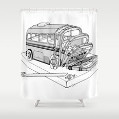Loaf Shower Curtain